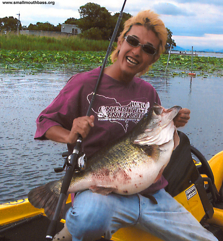 World record largemouth bass for Bass fishing websites